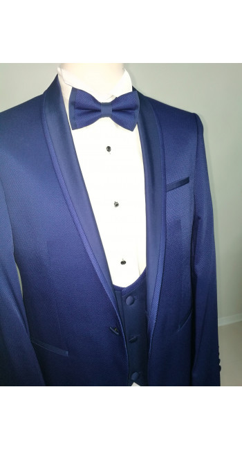 10136 Blue Abito cerimonia uomo